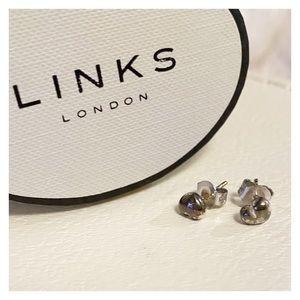 Links of London - Silver Baby Heart Earrings
